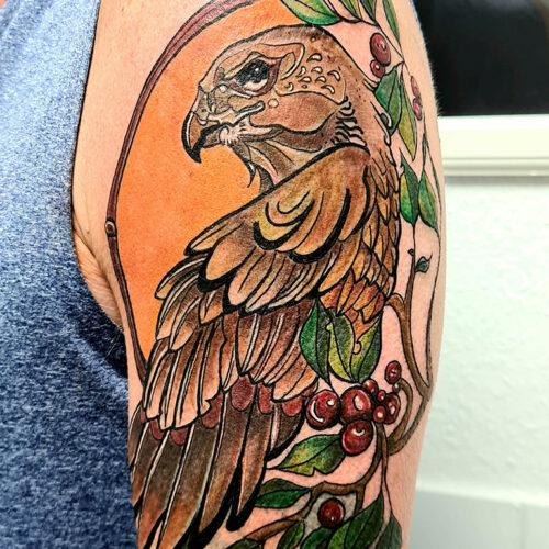 Tattoo adler