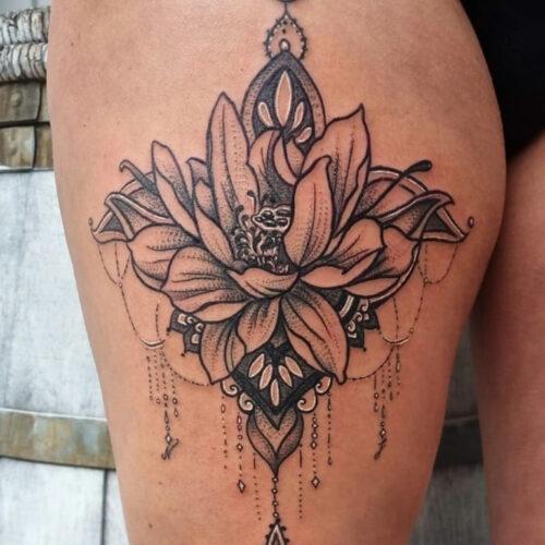 Tattoo blumen