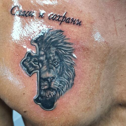 Tattoo loewe